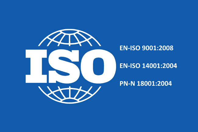 Standardy ISO logo
